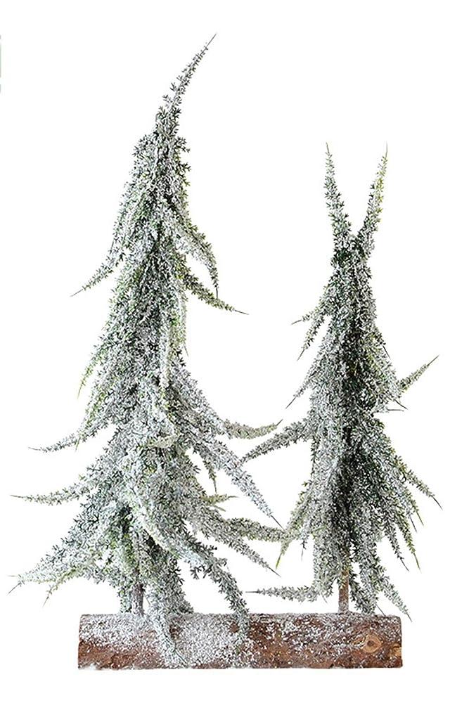 文化香水グローバルクリスマスデコレーションツリー ダブルデスクトップ人工クリスマスツリーミニクリスマスツリーの装飾テーブルの装飾やギフト (色 : 緑, サイズ : Free size)
