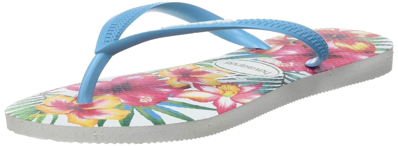 Details about  /Havaianas Women Girl Slim Hibisco FC Flip Flops Thong Sandals Summer Shoes