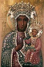 Black Madonna of Czestochowa, Icons, Jewels and precious stones Poster Print (8 x 10)