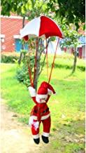 Prettyia Snowman Coming with Parachute Vintage Christmas Xmas Ornament Haning Decor Gifts