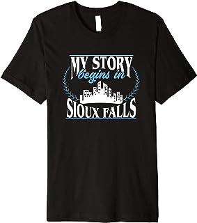 Sioux Falls shirt | Born in Sioux Falls Premium T-Shirt