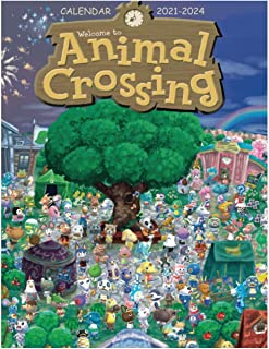 animal crossing: Calendar 2021-2024 Planner Calendar Schedule Organizer high quality for kids and adults