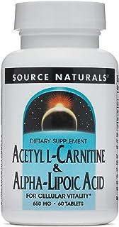 Source Naturals Acetyl L-Carnitine Alpha-Lipoic Acid