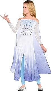 Disney Frozen 2 Epilogue Elsa Halloween Costume for Kids Includes Dress, Leggings, For Pretend Play