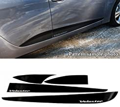 Sell by Automotiveapple, Side Decal Line Sticker Carbon Black 4-pc For 2011-2016 Hyundai Veloster