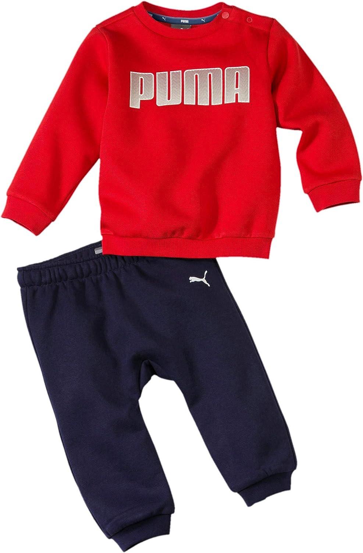 PUMA Bébé garçon Infant Jog Suit Boys Sweatsuit Minicats Fleece ...