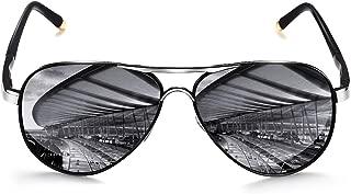 large mirrored aviator sunglasses