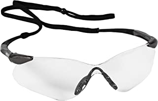 KleenGuard (formerly Jackson Safety) Nemesis VL Safety Glasses (20470), Sporty Frameless Design, UV Protection, Scratch Re...