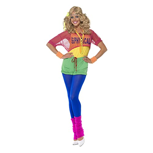 82fc928a Smiffy's Women's Let's Get Physical Girl Costume