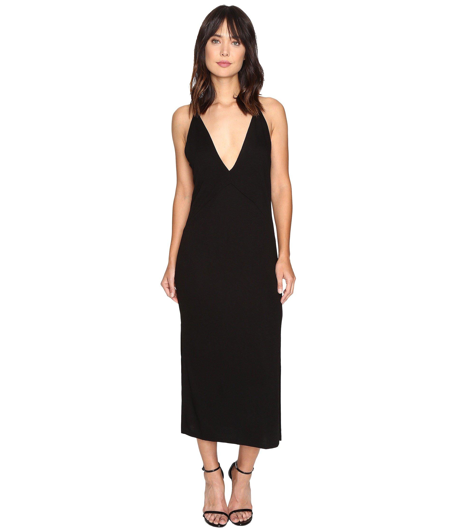 Lanston Slit Cami Midi Dress