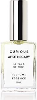 Curious Apothecary La Taza de Oro Musk perfume for women. Rich resins, woods, musk women's fragrance. 15 ml