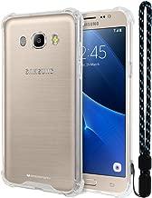 Galaxy J5 2016 Case, Mercury [Air Cushion] Crystal Clear Hybrid [Protective TPU Cover & Hard PC Back] for Samsung Galaxy J5 2016, J52016-CCH