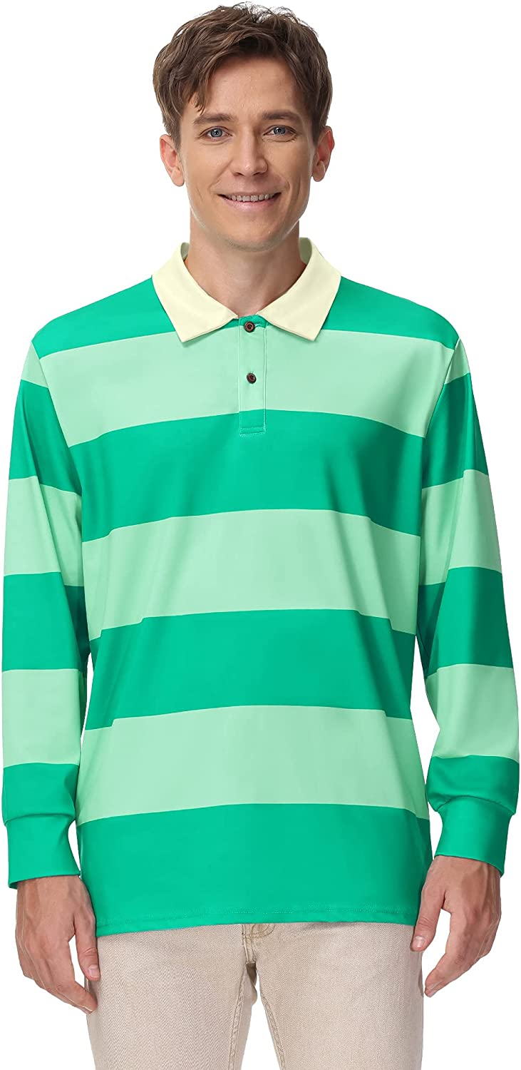 Arvilhill Sale SALE% OFF Adult Halloween Max 68% OFF Costume Polo Striped Shirt Classic