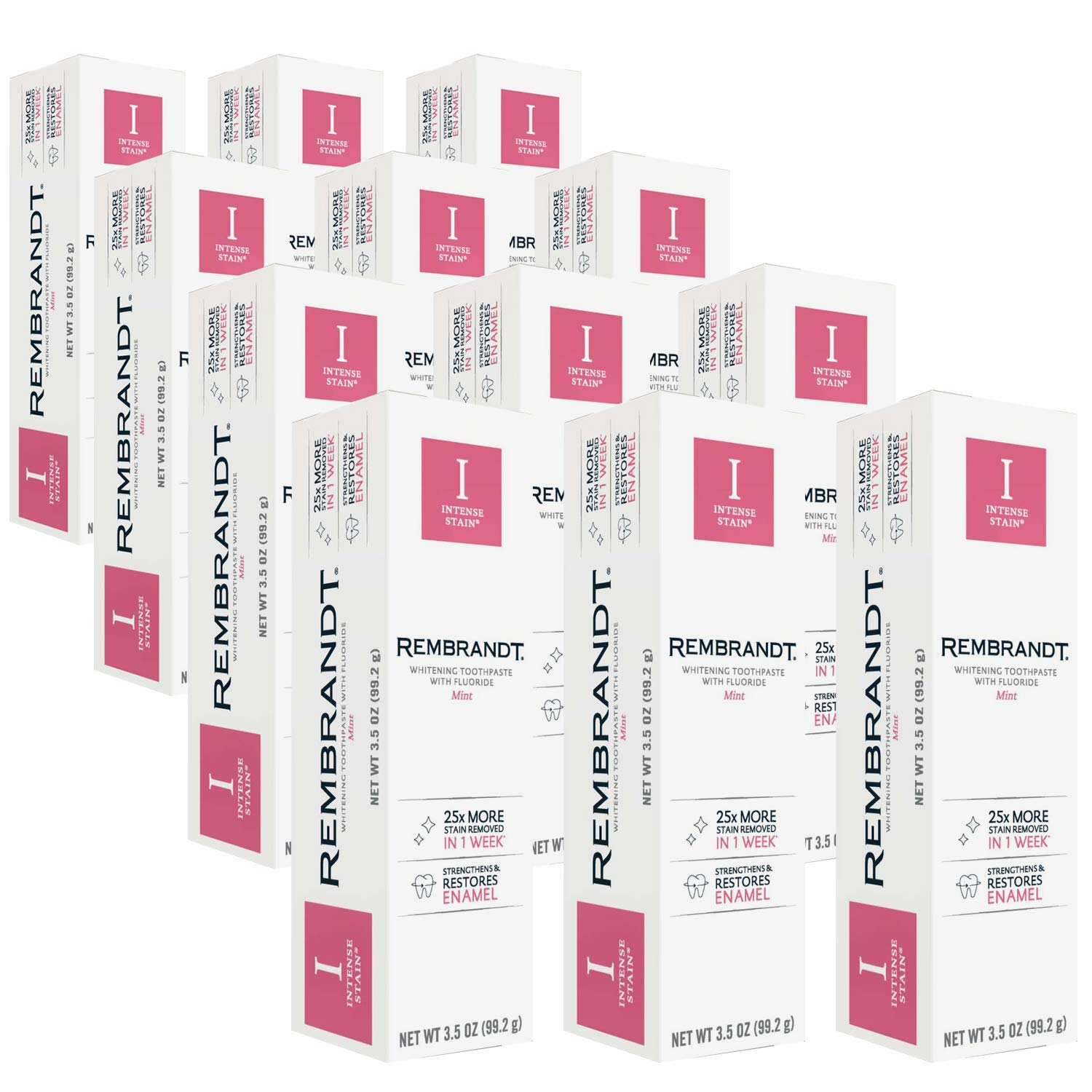 price Plackers Rembrandt Intense Stain Flavor Whitening Toothpaste 3.5 Phoenix Mall