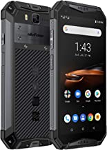 Rugged Phones Ulefone Armor 3W, IP68 Waterproof Cell Phone Unlocked, Android 9.0 10300mAh Big Battery, Dual 4G 5.7 Inch FH...