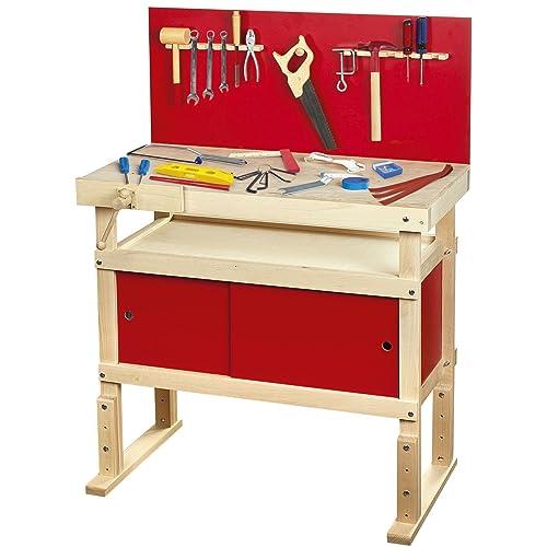 Kids Wooden Workbench Amazoncouk