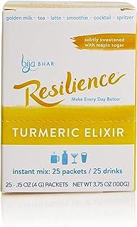 Resilience Subtly Sweetened Turmeric Elixir, Box of 25 Single Serve Sachets