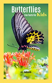 Butterflies Fun Facts For Kids: Facts and photo book (First 100 1) (English Edition)