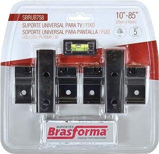 "Suporte Tv Lcd/Plasma 10"" A 85"" Sbrub758, Brasforma, 16427"
