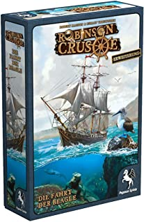 Pegasus Spiele 51946G - Robinson Crusoe - Die Fahrt der Beagle, Brettspiel