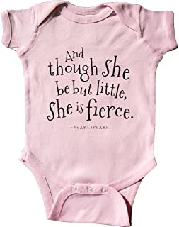 Though She Be But Little Shakespeare Quote Infant Creeper