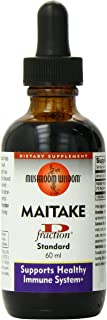 Mushroom Wisdom Maitake D-Fraction Immune System Support, 2 Ounce