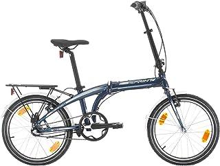 Bikesport 20, 20 pulgadas, Bicicleta plegable para ciudad, Shimano NEXUS 3 velocidades Unisex