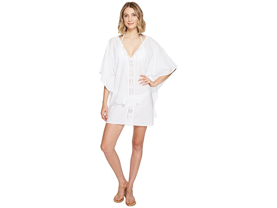Athena Stella Caftan Cover-Up (White) Women