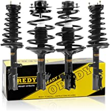 OREDY Full Set Front Rear Complete Struts Assembly Kit Shock Absorber 271681 171955 171956 15162 15161 Compatible with Lexus ES300 1992 1993 1994