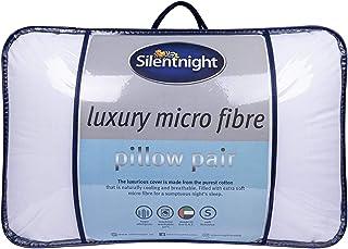 Silentnight Luxury Micro Fibre Pillow Pair (2-Piece Pack)