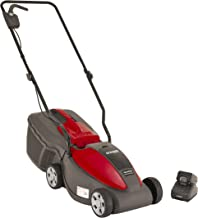 Mountfield Electress 30 Litre Cordless Lawnmower, 30 cm Cutting Width, Battery-Powered, Up to 150 m², Includes 30 Litre Gr...