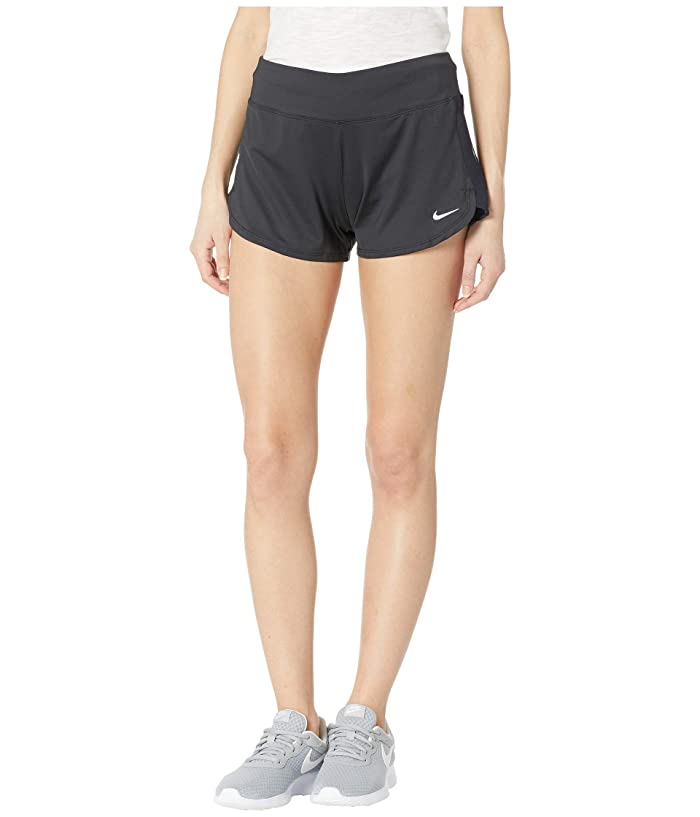 Nike Solid Shorts Cover-Up (Black) Women