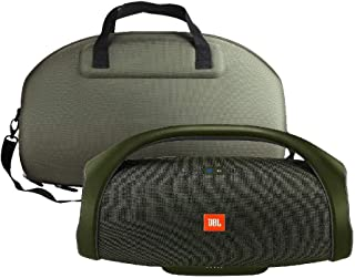Hard Travel Case for JBL Boombox - Waterproof Portable Bluetooth Speaker by Hermitshell (Green)