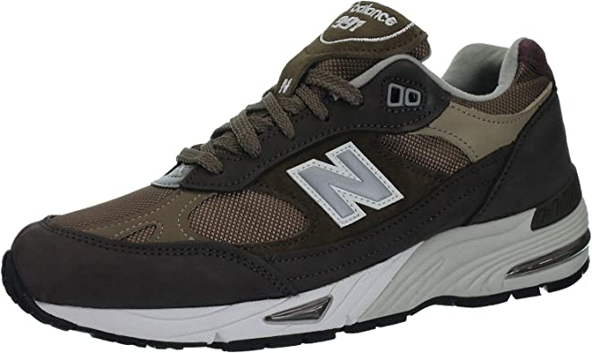 Amazon.com   New Balance M991 Brown Made in England Trainers ...