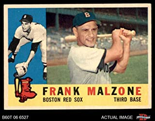 1960 topps baseball