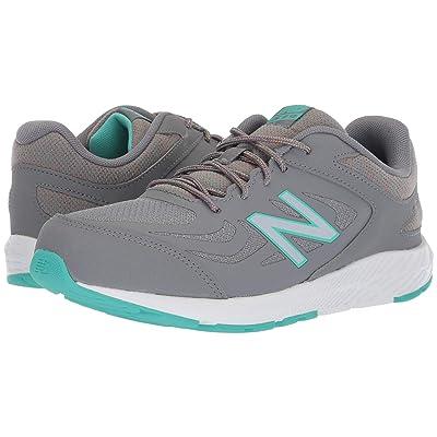 New Balance Kids KJ519v1Y (Little Kid/Big Kid) (Gunmetal/Aquarius) Girls Shoes