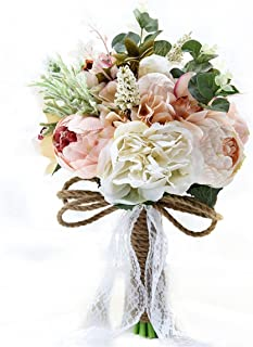 Best burlap flower bridal bouquet Reviews