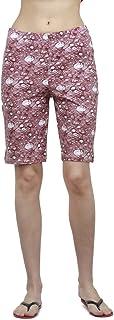 Bongio Womens Knit Short Printed (Medium)