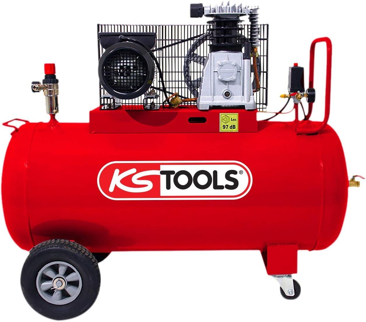 Ks Tools 165 0704 Kompressor Auf Tank 100 L 10 Bar Baumarkt