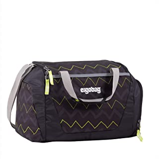 ergobag Ergobag Ergobag Duffle Bag 儿童运动包 40 厘米 Black Zigzag 50 cm