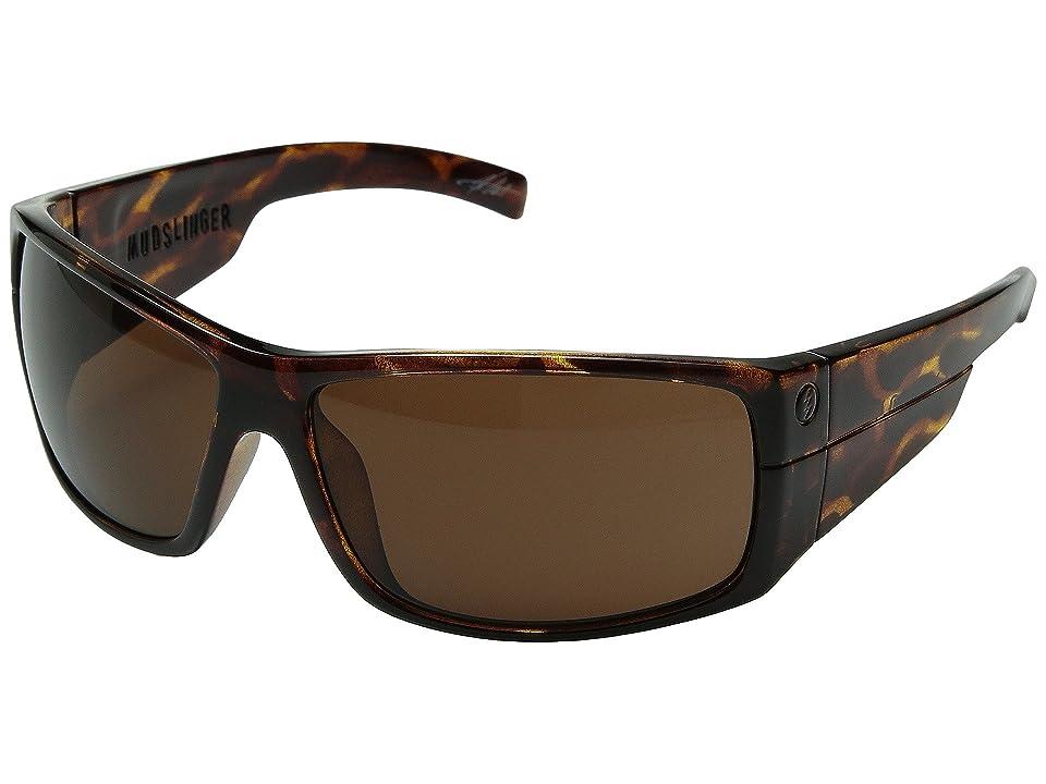 Electric Eyewear Mudslinger Polarized (Tortshell/Melanin Bronze) Sport Sunglasses