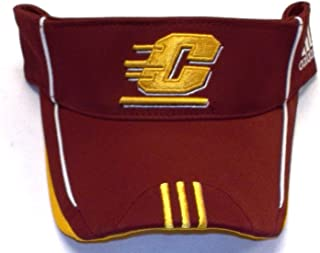 adidas Central Michigan Chippewas Adjustable Visor - OSFA