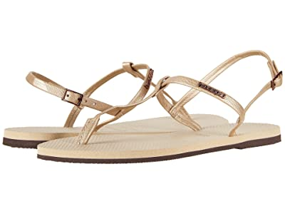 Havaianas You Riviera Sandals (Sand Grey) Women