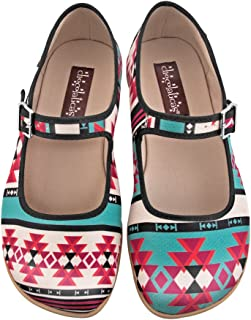 Hot Chocolate Design Chocolaticas Tribal Women's Mary Jane Flat
