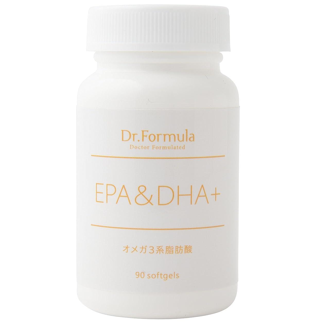 化合物沼地分割Dr.Formula EPA&DHA+(オメガ 3系脂肪酸) 30日分 90粒 日本製 OMEGA3