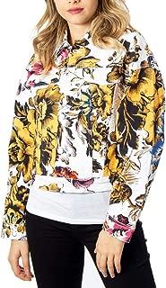 Desigual Luxury Fashion Womens 20SWEN14WHITE White Jacket | Fall Winter 19