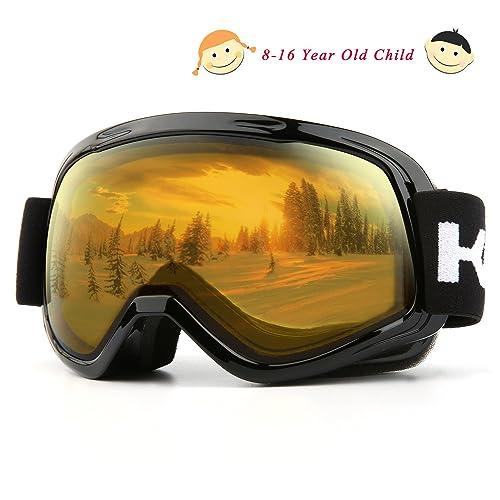 Kasliny Lunettes de Ski, Masque de Ski pour Homme, Femme et Enfants,  Lunettes 37eef4db6958