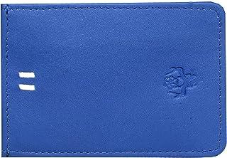 Vintage9 Magflip Leather Unisex Mag Wallet - Blue
