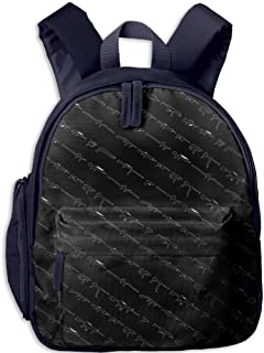 Pinta Gun Cub Cool School Book Bag Backpacks for Girl's Boy's