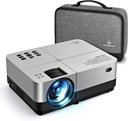 VANKYO Leisure 420 Mini Projector, 3200 Lux Portable Home Movie Cinema, 1080P Supported, 200'' Projection Size, Compatible w/ PS4, Xbox, HDMI for Gaming, Sports